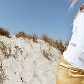 Bon dimanche ! ⛱ Un total look @2nddayofficial pour finir en beauté la semaine.  #2ndday #plage #dune #soleil #jupe #sundaymood #dimanche #tenuedujour #douceur